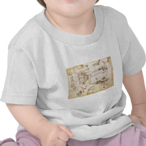 Códice Atlanticus Camisetas