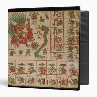 "Códice azteca Borbonicus Carpeta 1 1/2"""