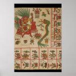 Códice azteca Borbonicus Poster