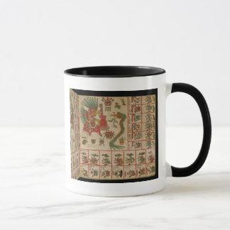 Códice azteca Borbonicus Taza