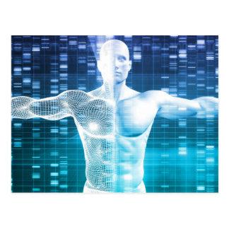 Codificación de la DNA y código genético como Postal