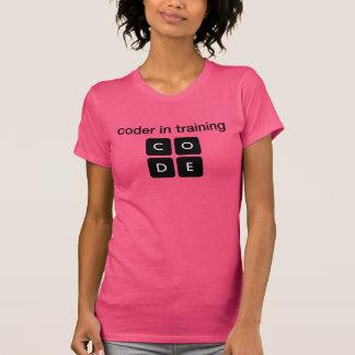 Codificador en el entrenamiento t-shirt