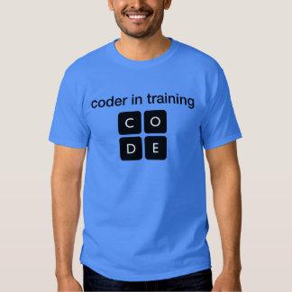Codificador en el entrenamiento playeras