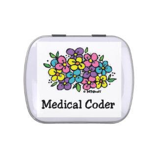Codificador médico Blooms2 Latas De Dulces