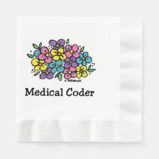 Codificador médico Blooms2 Servilletas Desechables