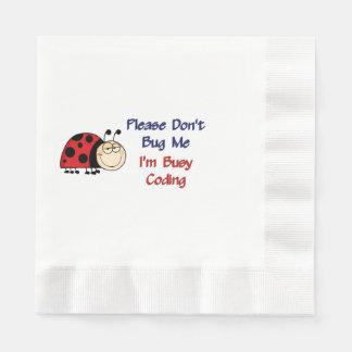 Codificador médico Ladybug2 Servilleta Desechable