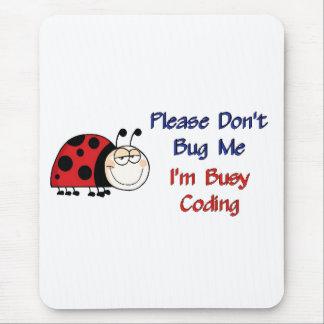 Codificador médico Ladybug-2 Tapete De Raton