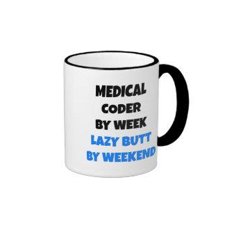 Codificador médico perezoso taza de dos colores