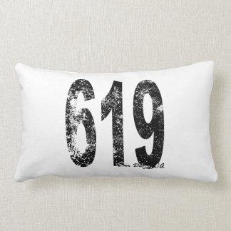 Código 619 de San Diego-area Cojín