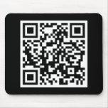 código adaptable de QR Alfombrilla De Raton