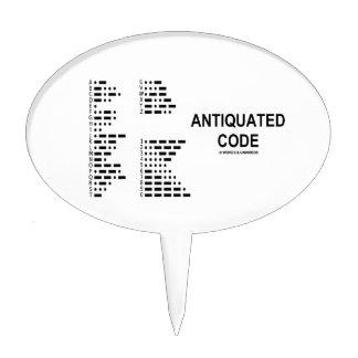 Código anticuado (código Morse internacional) Figura De Tarta