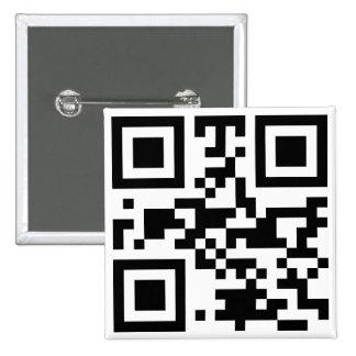 """Código """"ATEO"""" de QR Pin Cuadrada 5 Cm"""