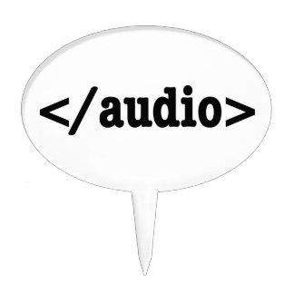 Código audio HTML5 del final Decoraciones Para Tartas