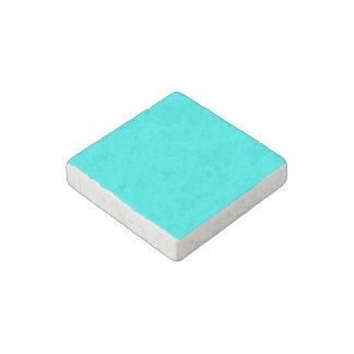 Código azul claro de neón 00ffff del maleficio imán de piedra