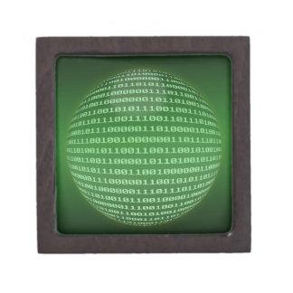 Código binario caja de regalo de calidad