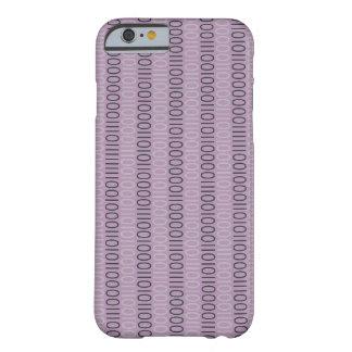 CÓDIGO BINARIO en cualquier color Funda Barely There iPhone 6