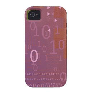 Código binario Case-Mate iPhone 4 fundas
