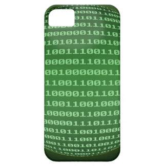 Código binario iPhone 5 Case-Mate protectores