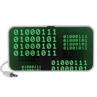 Código binario para el FRIKI PC Altavoces