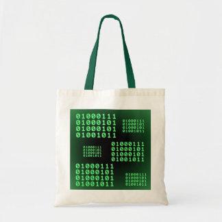 Código binario para el FRIKI Bolsa Tela Barata
