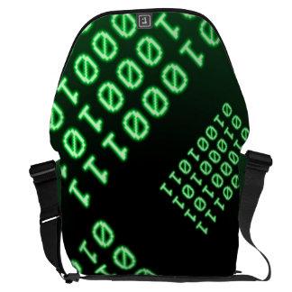 Código binario para el FRIKI Bolsas De Mensajería