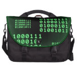 Código binario para el FRIKI Bolsas Para Portatil
