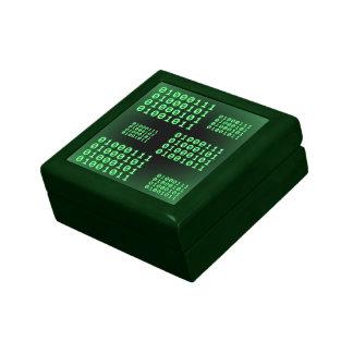 Código binario para el FRIKI Caja De Joyas