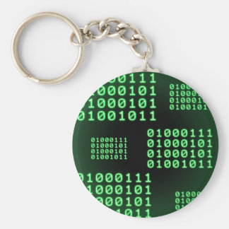 Código binario para el FRIKI Llavero Redondo Tipo Pin