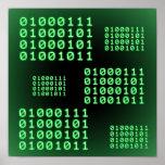 Código binario para el FRIKI Poster