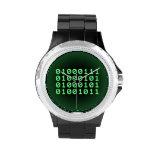 Código binario para el FRIKI Reloj De Mano