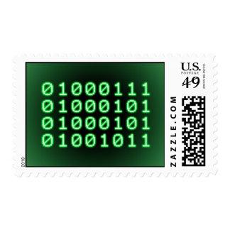 Código binario para el FRIKI Sellos