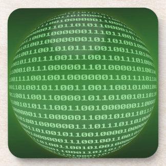 Código binario posavaso