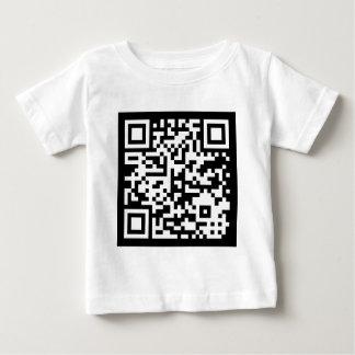 Código Código de QR Playera Para Bebé