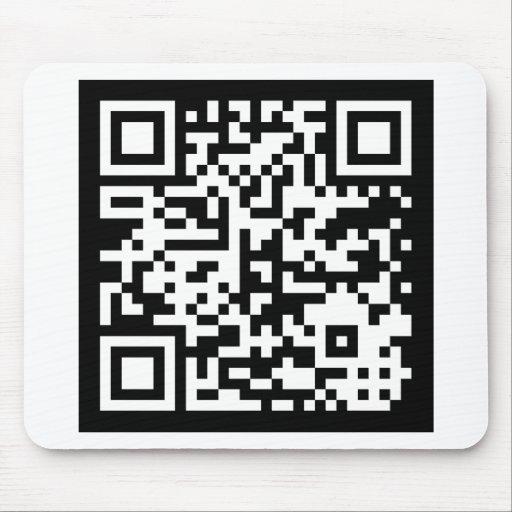 Código Código de QR Alfombrilla De Ratones