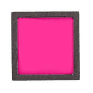 Código color de rosa rosado brillante FF007F del Caja De Regalo De Calidad