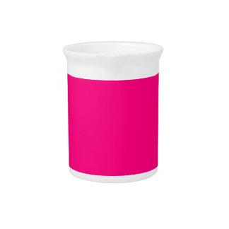 Código color de rosa rosado brillante FF007F del Jarrón