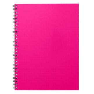 Código color de rosa rosado brillante FF007F del Notebook