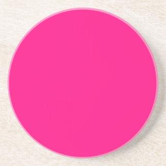 Código color de rosa rosado brillante FF007F del Posavasos De Arenisca