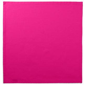 Código color de rosa rosado brillante FF007F del Servilleta