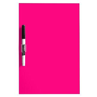 Código color de rosa rosado brillante FF007F del Tableros Blancos