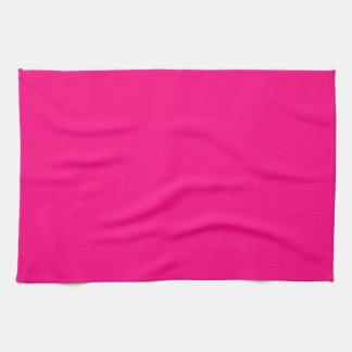 Código color de rosa rosado brillante FF007F del Toalla De Mano