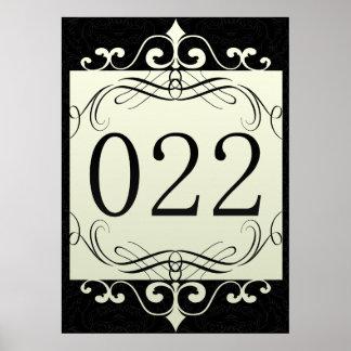 Código de área 022 póster