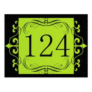 Código de área 124 tarjeta postal
