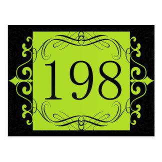 Código de área 198 postal
