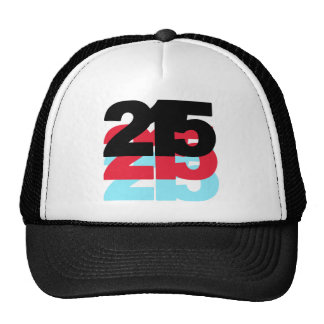 Código de área 215 gorra
