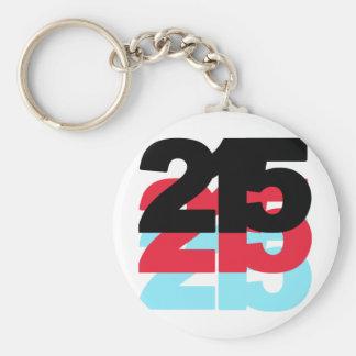Código de área 215 llavero redondo tipo pin