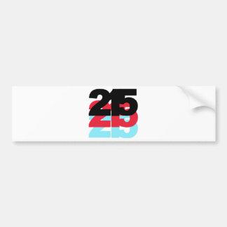 Código de área 215 pegatina para auto