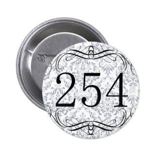 Código de área 254 pins