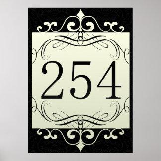 Código de área 254 posters