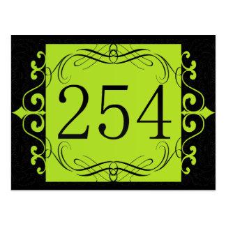 Código de área 254 tarjeta postal